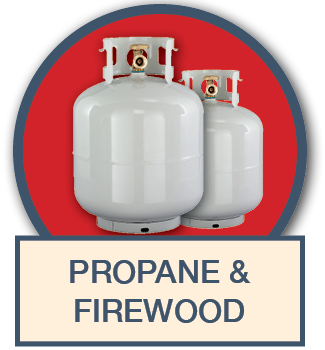 Propance and Firewood